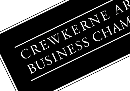 Crewkerne Area Business Chamber Logo by Theory Unit Graphic Design in Sherborne, Dorset near Wincanton
