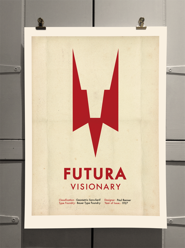 Futura Poster by Theory Unit