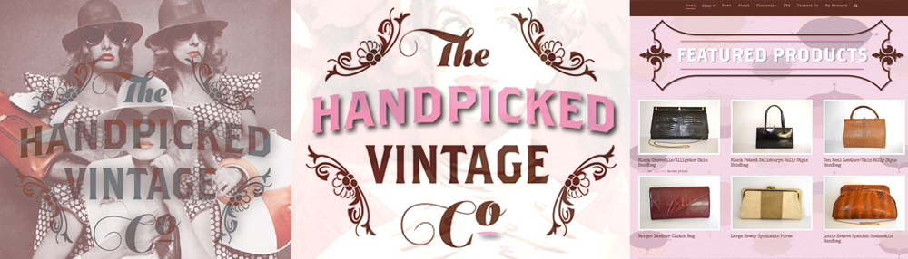 The Handpicked Vintage Co Ecommerce Web Shop branding by Theory Unit Graphic and Web Design