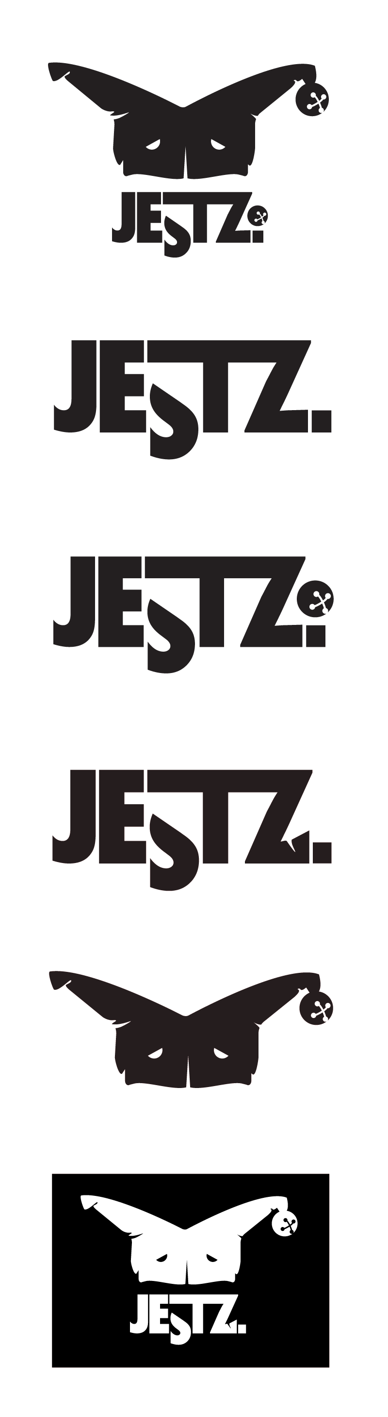 Jestz Boutique Logos, Stickers and T-Shirts by Theory Unit Graphic Design